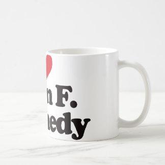 私はJohn F Kennedyを愛します コーヒーマグカップ