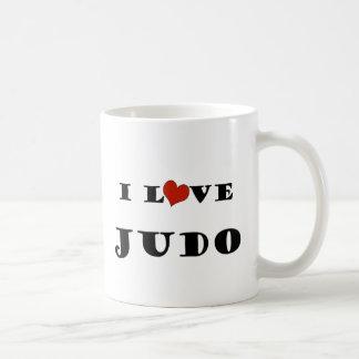 私はJudo.pngを愛します コーヒーマグカップ