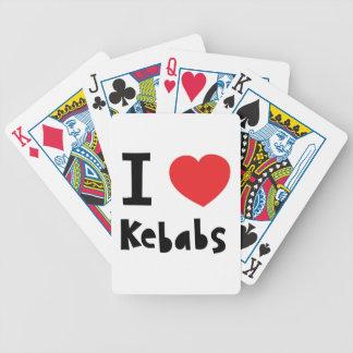 私はKebabsを愛します バイスクルトランプ