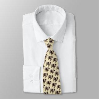 私はKeeshondsを愛します ネクタイ