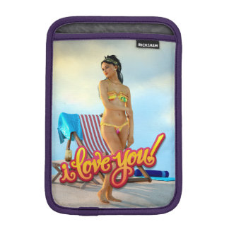 私はKeira愛します iPad Miniスリーブ
