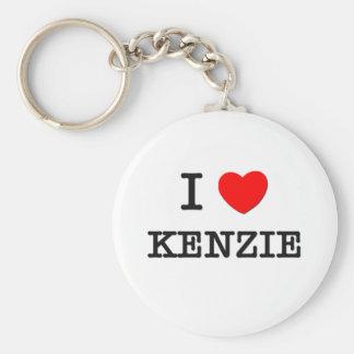 私はKenzieを愛します キーホルダー