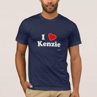 私はKenzieを愛します Tシャツ