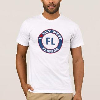 私はKey Westを愛します Tシャツ