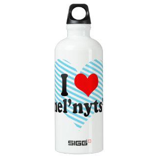 私はKhmel'nyts'kyy、ウクライナを愛します ウォーターボトル