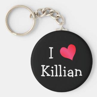 私はKillianを愛します キーホルダー