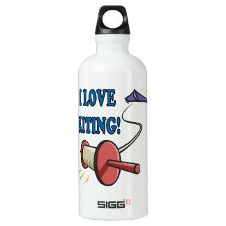 私はKitingを愛します ウォーターボトル