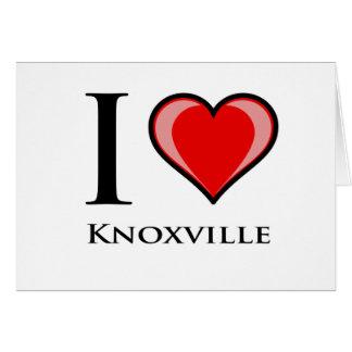 私はKnoxvilleを愛します カード
