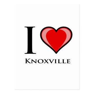 私はKnoxvilleを愛します ポストカード