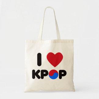 私はKpopを愛します トートバッグ