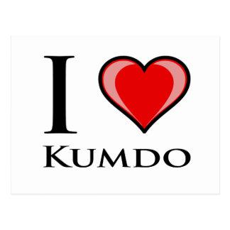 私はKumdoを愛します ポストカード