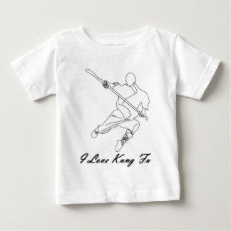 私はKung Fuを愛します ベビーTシャツ
