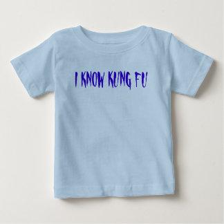 私はKUNG FUを知っています ベビーTシャツ