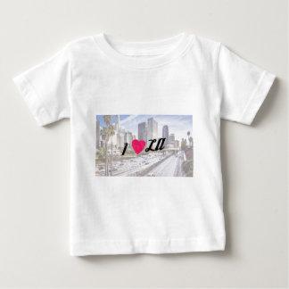 私はLAを愛します ベビーTシャツ