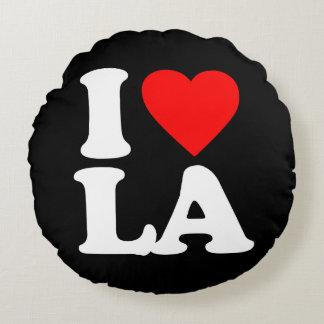 私はLAを愛します ラウンドクッション