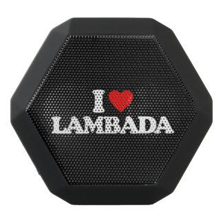 私はLAMBADAを愛します ブラックBluetoothスピーカー