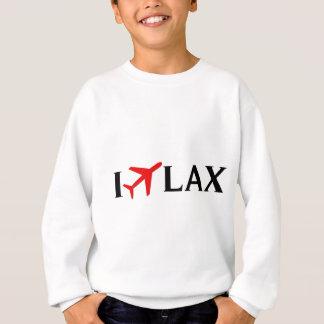 私はLAX -ロサンゼルスの国際空港を飛ばします スウェットシャツ