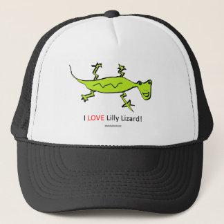 私はLillyのトカゲを愛します キャップ