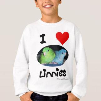 私はLinniesを愛します スウェットシャツ