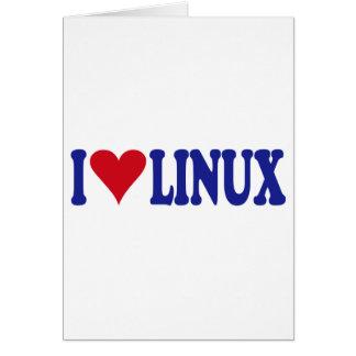 私はLinuxを愛します カード