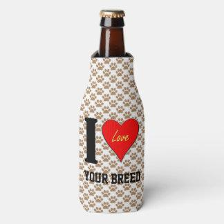 私はLOVE (あなたの品種) ボトルクーラー