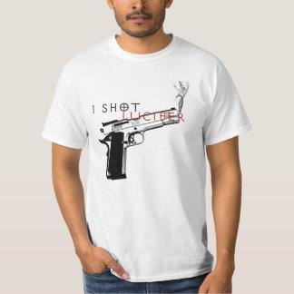 私はLuciferを撃ちました Tシャツ