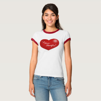 """""""私はLucifer""""ルーシーのスタイルのハートを愛します Tシャツ"""