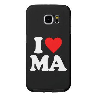 私はMAを愛します SAMSUNG GALAXY S6 ケース