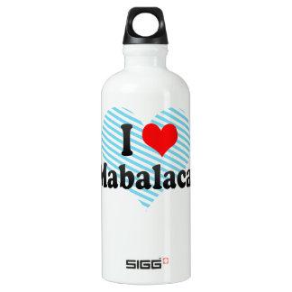 私はMabalacat、フィリピンを愛します ウォーターボトル