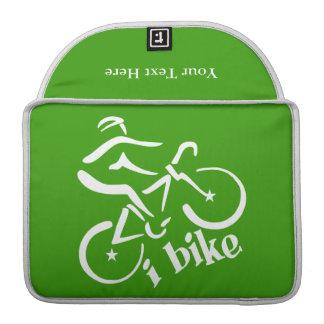 私はMacBookのカスタムな袖を自転車に乗ります MacBook Proスリーブ