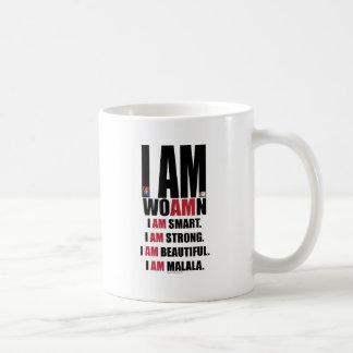 私はMALALAです コーヒーマグカップ