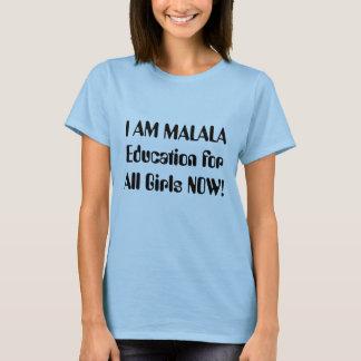 私はMalalaです Tシャツ
