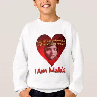 私はMalalaの教育です神正しく与えますです スウェットシャツ