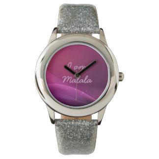 私はMalalaの腕時計です 腕時計