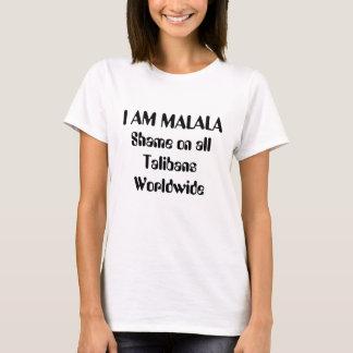 私はMalala 2です Tシャツ