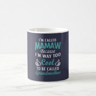 私はMAMAWと電話されます コーヒーマグカップ