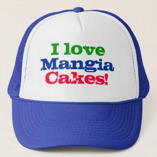 私はMangiaのケーキを愛します! キャップ