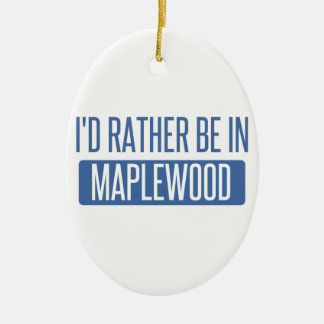 私はMaplewoodにむしろあります セラミックオーナメント