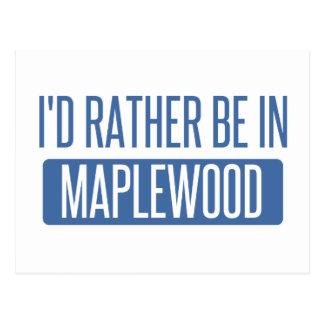 私はMaplewoodにむしろあります ポストカード