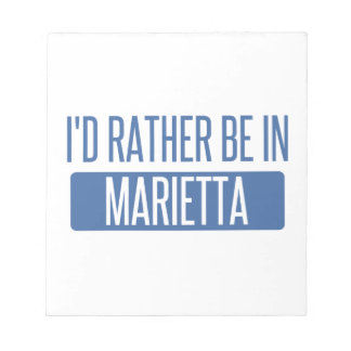 私はMariettaにむしろいます ノートパッド