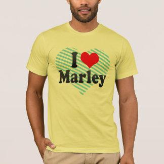 私はMarleyを愛します Tシャツ