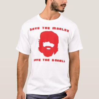 私はMarleyを救いました Tシャツ
