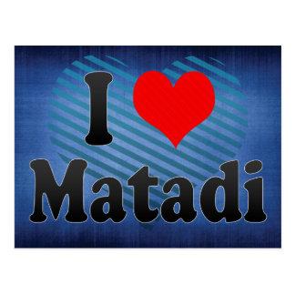 私はMatadi、コンゴを愛します ポストカード