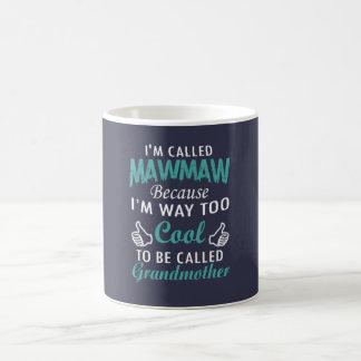 私はMAWMAWと電話されます コーヒーマグカップ
