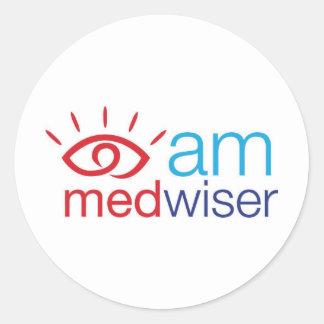 私はMedwiserです ラウンドシール