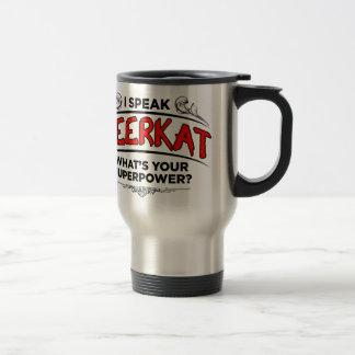 私はMeerkatを話します トラベルマグ