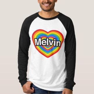 私はMelvinを愛します。 私はMelvin愛します。 ハート Tシャツ