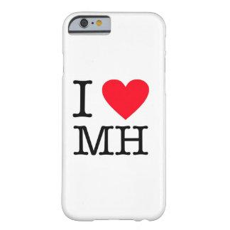 私はMH -場合のiPhone 6 --を愛します Barely There iPhone 6 ケース