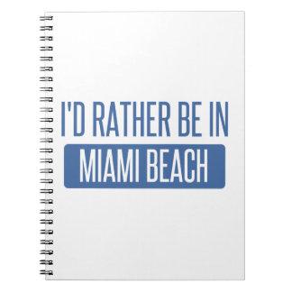私はMiami Beachにむしろいます ノートブック