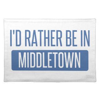 私はMiddletown CTにむしろいます ランチョンマット